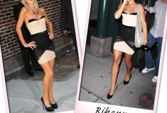 Who rocked it hotter: Rihanna and Paris Hilton face off with the Alexander Wang Corset dress