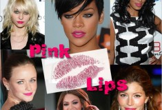 Summer love – hot pink lips!