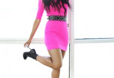 Amerie opens her high-fashion closet to Elle