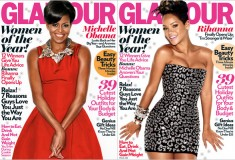 "Michelle Obama and Rihanna cover Glamour Magazine's ""Women of the Year"" issue"
