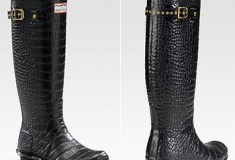 Hunter Boots for Jimmy Choo