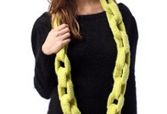 Cocoon Chainlink Scarf by Yokoo exclusively at Urban Outfitters