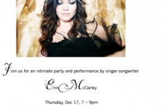 Haute holiday party and sale at eryn brinié