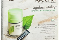 Beauty review: daytime Aveeno Ageless Vitality Elasticity Recharging System