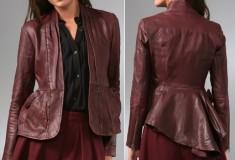 Haute Splurge: Nanette Lepore Hush Hush Leather Jacket