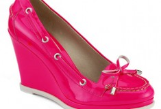 Haute pink – the Sperry Top-Sider Authentic Original Wedges by Jeffrey New York
