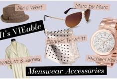 Haute trend: Menswear-inspired accessories