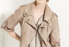 Save now, splurge for Spring: Donna Karan Collection Délavé Lambskin Leather Motorcycle Jacket