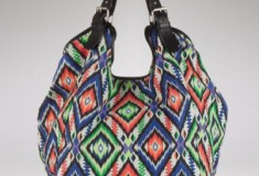 Shop what's haute: the Cynthia Vincent Berkeley Large Tote in ikat print