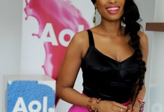 """Get Her Haute Look: Jennifer Hudson at AOL Music's """"Sessions"""""""