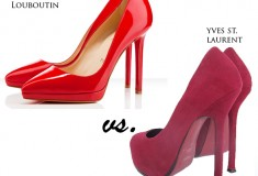 Seeing red: Christian Louboutin sues Yves St. Laurent for trademark red soles