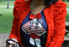 My Style: Painting the Roses Red (H&M Garden Collection Blazer + Zara Jeans)