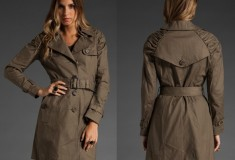 Win this contemporary-meets-classic BB Dakota Southard Trench from Excess Baggage and What's Haute!