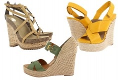 Touch the sky: shop 15 sky-high Spring wedges