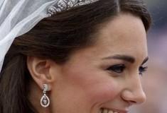 Haute baubles: get Kate Middleton's teardrop-style bridal earrings
