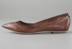 Haute buy: Costume National Pointed Toe Flats
