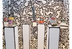 Visit the Nicholas Kirkwood x Keith Haring Foundation installation at Arnhem Mode Biennale, through July 3