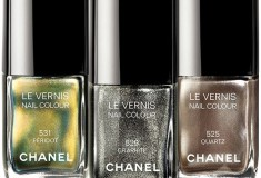 What's Haute for Fall? Illusions d'Ombres de Chanel – Quartz, Graphite and Peridot nail colors