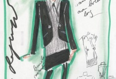 The Sketches Are Here! Karl Lagerfeld for Impulse Only at Macy's