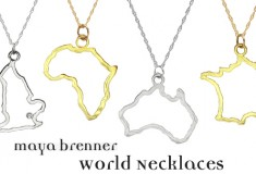 Maya Brenner Takes Over the World with New Collection of Necklaces