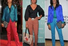 Haute pants: Rachel Roy Crepe Colored Trousers