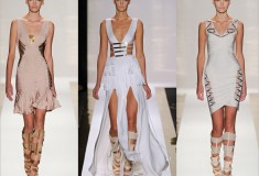 Haute off the Runway: Hervé Léger by Max Azria Spring 2012 runway (#NYFW #MBFW)