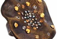Haute bauble: Joanna Laura Constantine Hammered Sparkle Ring
