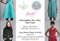 New York sample sale alert: Tracy Reese, Plenty and Frock