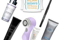 Enter $15,000 worth of beauty products in Lovely Skin's 30 Day of Beauty Giveaway!