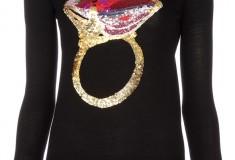 Haute buy: Markus Lupfer Ruby Ring merino wool sweater