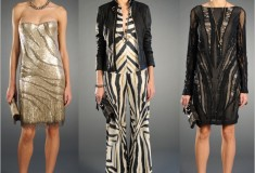 Glitzy and glamorous pretty much sums up the Roberto Cavalli Pre-Fall 2012 collection