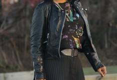 My Style: Birds & Sparkles (Zara top & crystal platforms + Missoni for Target skirt)