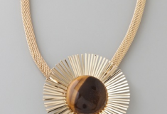 Haute bauble: Tuleste Market Double Sunburst Pendant Necklace