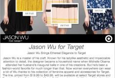 Sponsored: Jason Wu brings ethereal elegance to Target