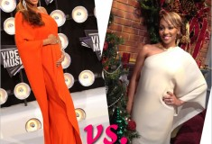Who Rocked it Hotter: Beyonce vs. Monica in a silk-crepe Lanvin asymmetrical gown