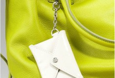 Diane von Furstenberg's citron-hued Drew Leather Bucket Tote is everything you want and need in a Spring/Summer bag