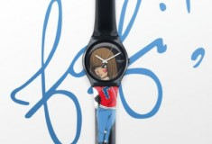 Swatch Originals teams up with French artist Fafi for limited-edition Fafi O'Clock watch