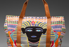 Haute bag of the week: Mara Hoffman Printed Beach Bag