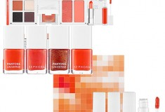 Hot beauty trend: Sephora + Pantone Universe Color of the Year 2012 Collector's Edition eyeshadow, nail polish and lip gloss sets