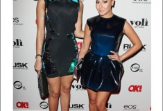 Haute celebrity style: 'Empire Girls' Adrienne Bailon & Julissa Bermudez in LaQuan Smith dresses
