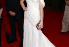 MET Gala 2012 Ashley Greene in white gown