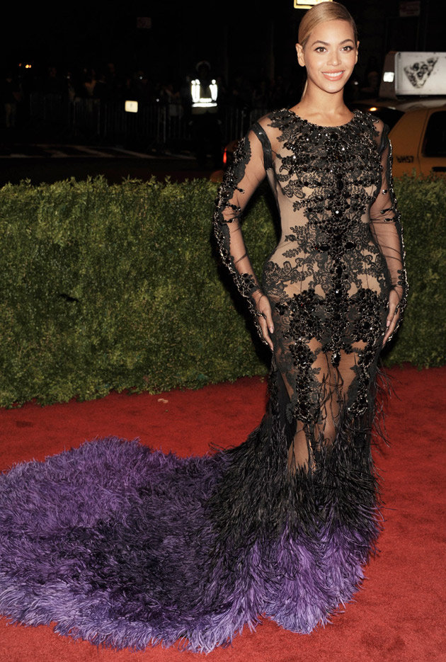 MET Gala 2012 Beyonce Knowles in Givenchy