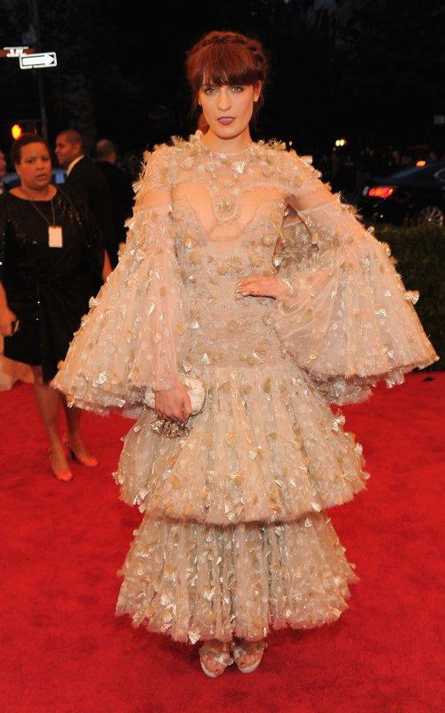 MET Gala 2012 Florence Welch