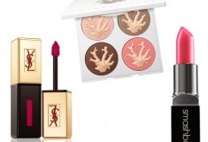 YSL-Glossy-Lip-Stain-Chantecaille-Coral-Reef-Palette-Smashbox-Cosmetics-Be-Legendary-Lipstick