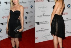 Get her haute look: Mena Suvari in Maria Lucia Hohan and Gio Diev