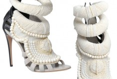 Get the Kanye West by Giuseppe Zanotti shoes, in all their beaded glory, at LUISAVIAROMA