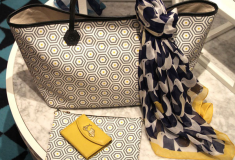Haute fashion + beauty + celeb news roundup: Jonathan Adler designs fashion accessories; Beverly Johnson partners with Frederick's of Hollywood; L'Oreal previews Project Runway Makeup Collection; Gucci's GG Flag CollectionforUNICEF + Lia Sophia Launches 'Sisters' Line