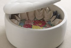 """Haute buy: Lilly Pulitzer Home """"Rousseau"""" Ottoman"""