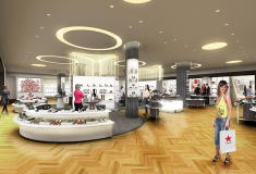 Haute fashion news roundup: Macy's debuts world's largest shoe department; Kirna Zabête at Target; Olympian Michael Phelps models for Louis Vuitton; Betsey Johnson launches new line + Spanx opens first retail stores