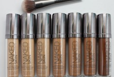 Haute fashion + beauty +celeb news roundup: Urban Decay debuts Naked Skin; Lady Gaga covers Vogue September issue; Heidi Klum returns to Jordache; Lucky launches myLuckymag.com + OPI collabs with Mariah Carey
